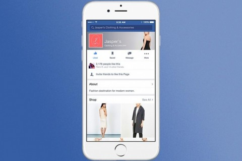 Facebook testing digital stores within site as part of e-commerce push