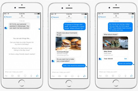 Facebook launches M, a virtual assistant with a human element