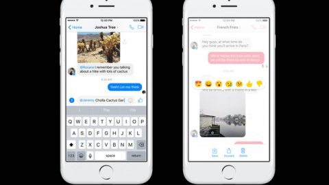 Wow! Facebook now allows users to react to chats inside Messenger