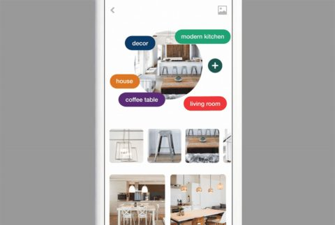 Use entire real-life rooms and outfits to dig up more inspiration in Pinterest