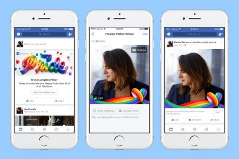 Facebook and instagram launch new stickers, reactions for #pride2017