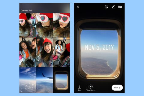 Instagram Stories become less 'Insta' with a new throwback-friendly feature